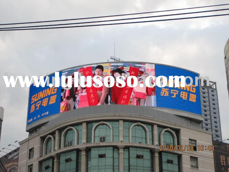 Outdoor full color LED display screen HX-P25 Electronic Advertising LED sign