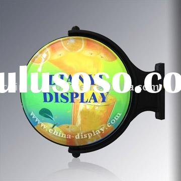 Rotating Display Light Box