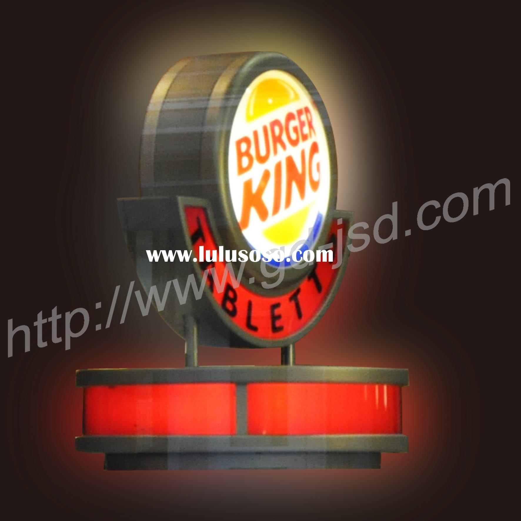 Round wall  indoor or outdoor advertising light box