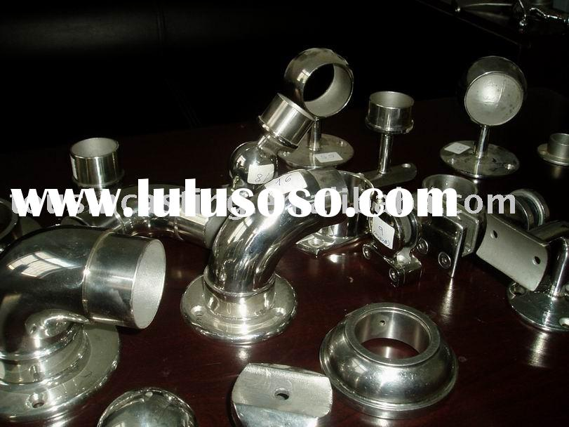 Stainless steel balustrade components