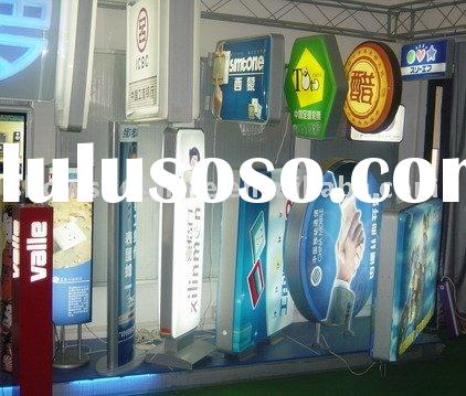 advertising box , light box , display product