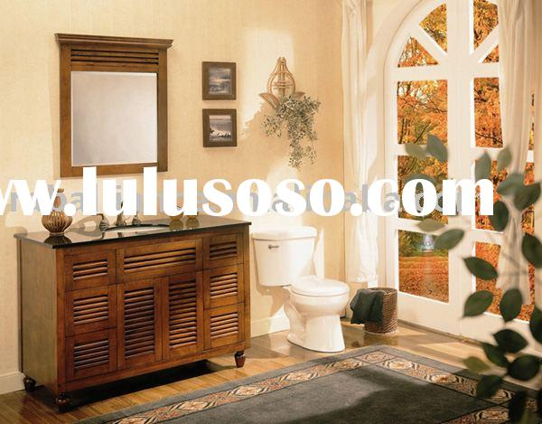 """antique bathroom cabinet (solid wood)- Brentwood 48"""""""