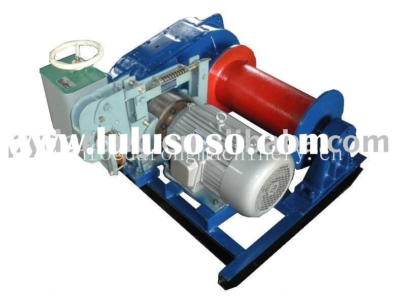 electric winch for building, mine, construction,materials lifting
