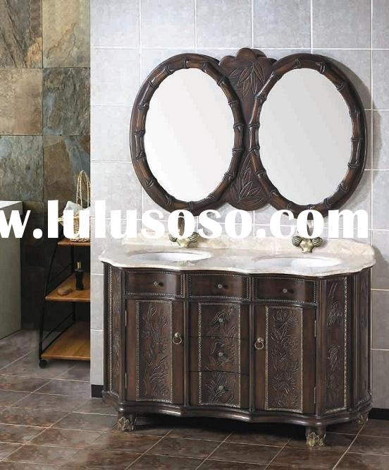 hard maple bathroom cabinet