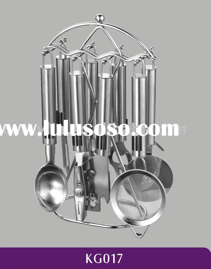 kitchen accessories 8pcs stainless steel kitchen gadget set