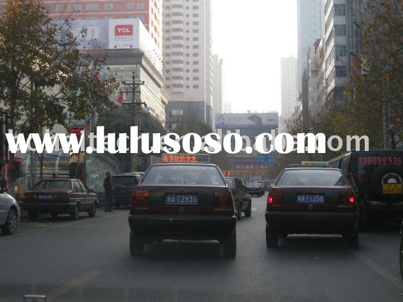 led light box,taxi top advertising