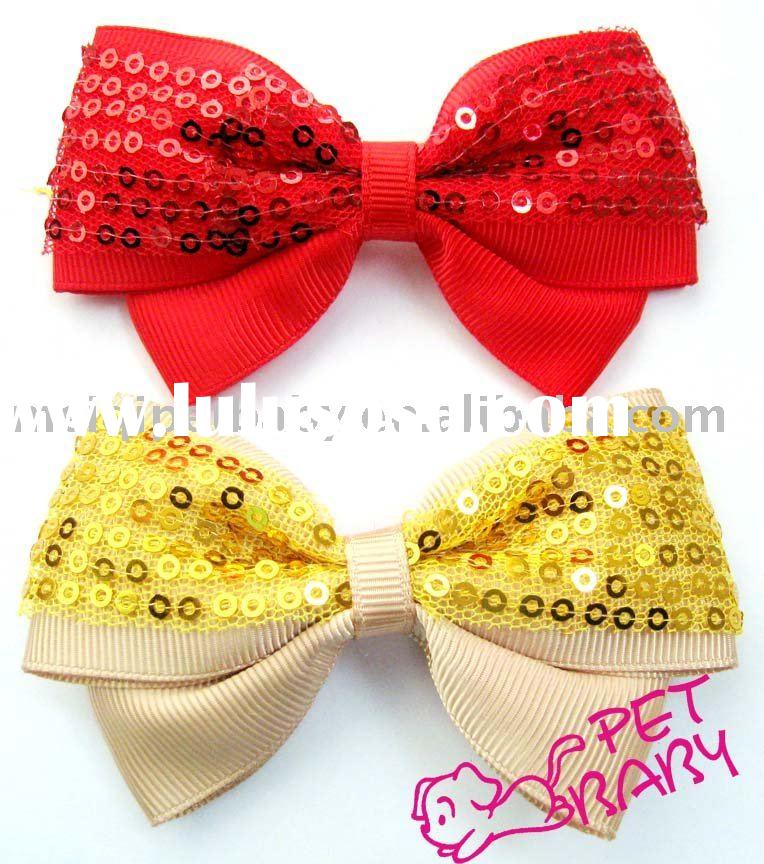 pet accessory/dog product/dog accessory/Bright bowtie