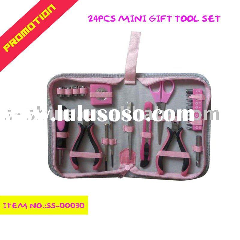 pink girl tool set kids