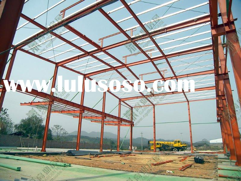 portal-framed prefabricated steel building supplier