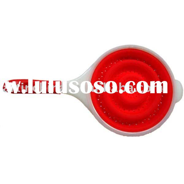 silicon strainer/kitchenware/kitchen accessories