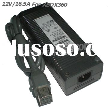 12V/ 16.5A 198W game player Adapter for Microsoft Xbox 360/Xbox360 Game Console