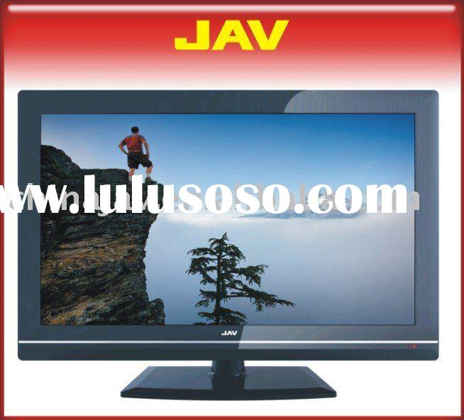 "32"" HD Ready LCD TV with Built-in DVD Player - black"