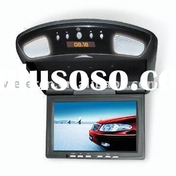 "7"" Flipdown TFT LCD Car Monitor With TV"