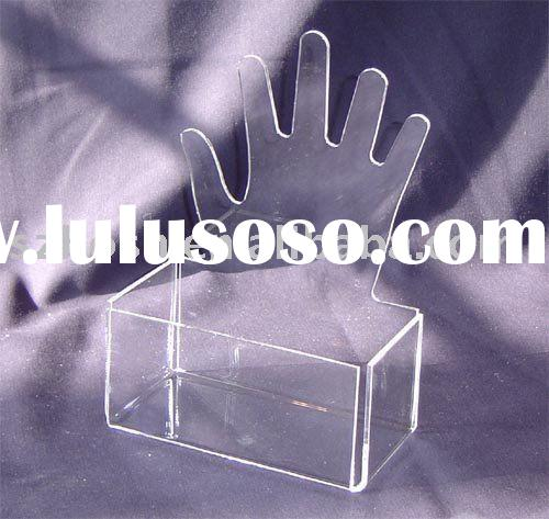 Acrylic Jewelry Box,Perspex Earring Display,Plexiglass Jewelry Display Stand