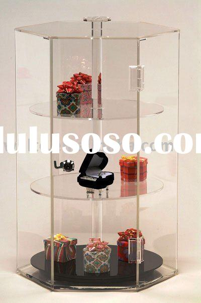 Acrylic jewelry display cases