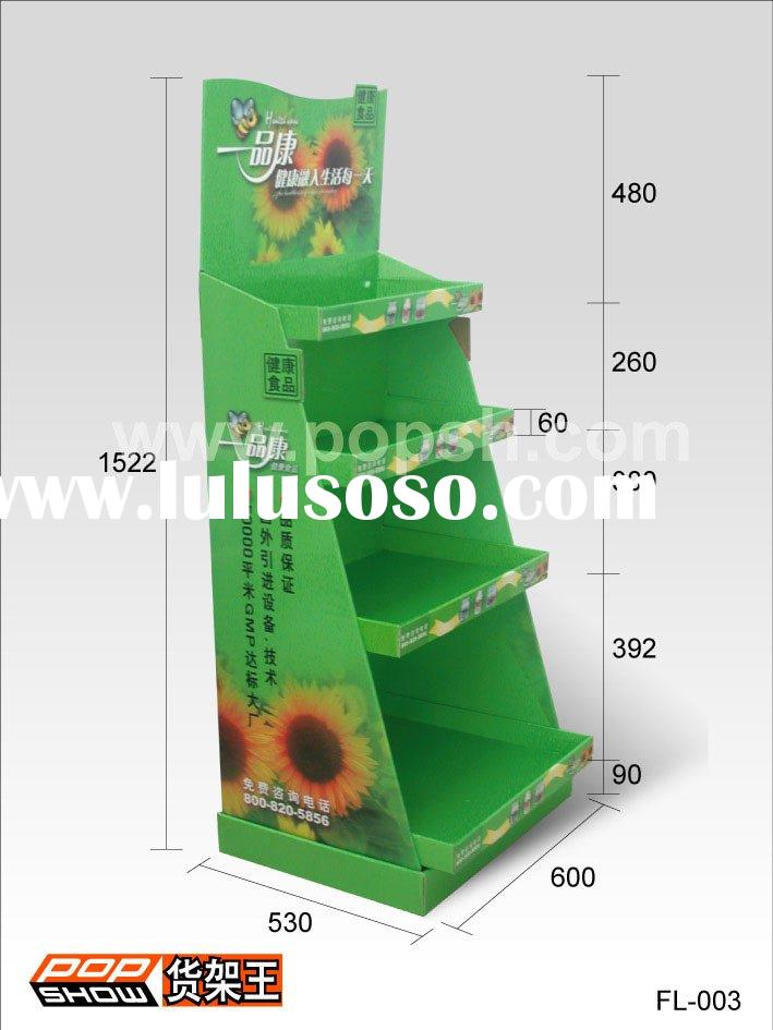 Cardboard display stands---floor display stands