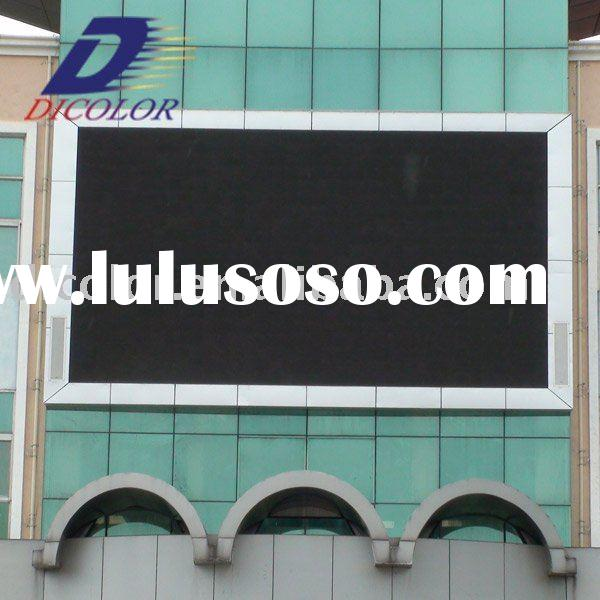 Full color outdoor led display tv with 3G, 3D Technology