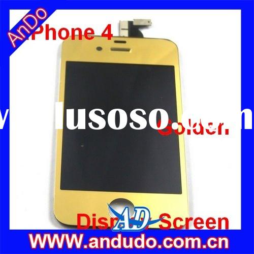 LCD Display Screen Replacement Repair parts for iPhone 4 - Golden
