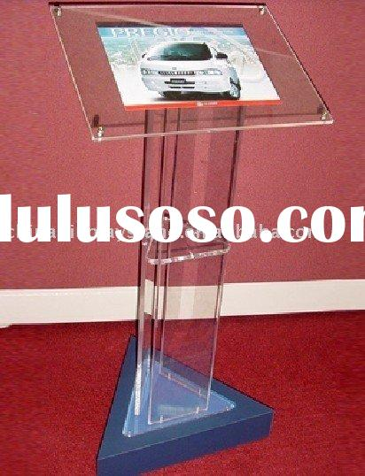acrylic poster display stands
