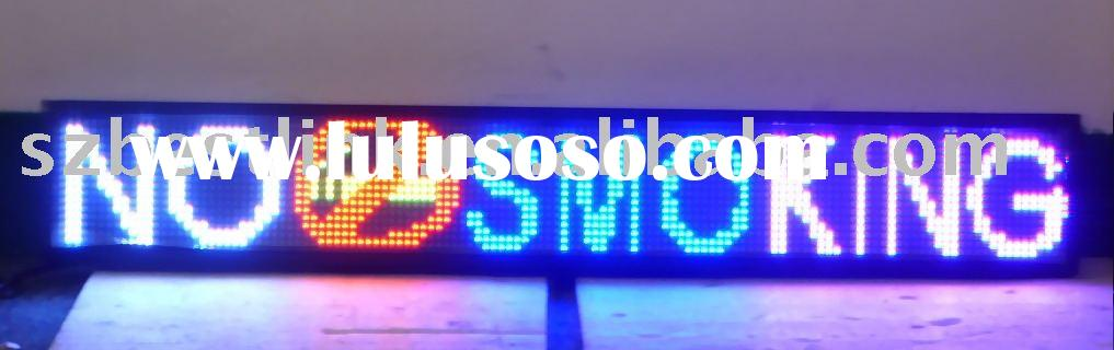 led scrolling sign,led moving sign,led message sign,led car display,led advertising board
