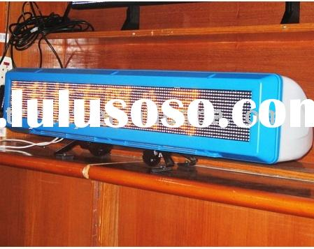taxi roof signs,taxi led moving message board,taxi led display sign