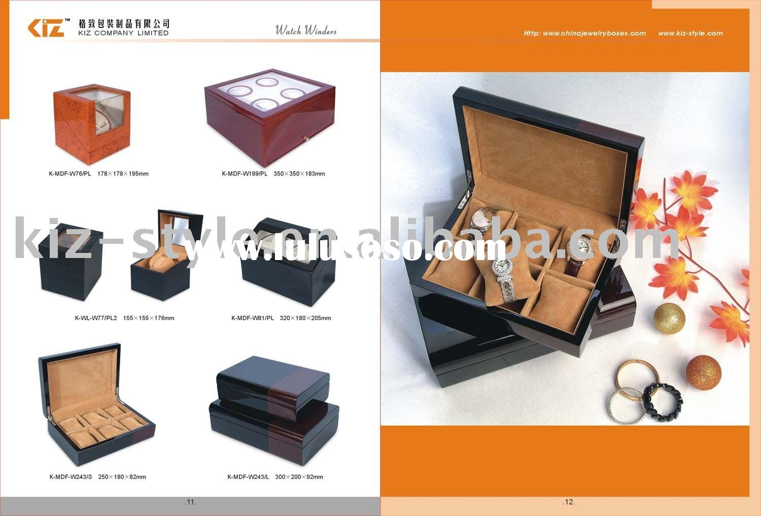 wooden boxes/plastic boxes/cardboard boxes/jewelry displays/watch displays