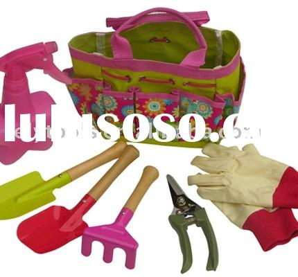 7 Pcs Kids Garden Tool Set for lady(G10466)