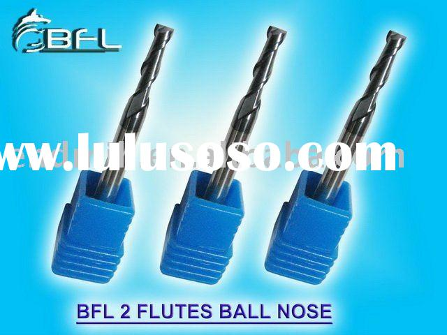BFL - 2 Flutes Tungsten Carbide Ball Nose End Milling Cutter Cutting Tool