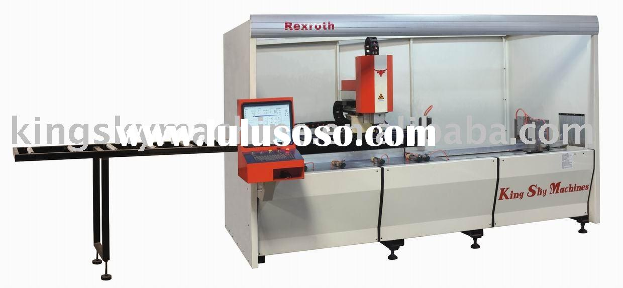 CNC Auto -feeding Drilling, Milling and Sawing Machine(4-axes)