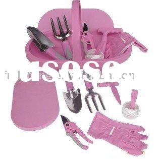 CT-98862 garden tools / pink tool kit/ lady tool kit