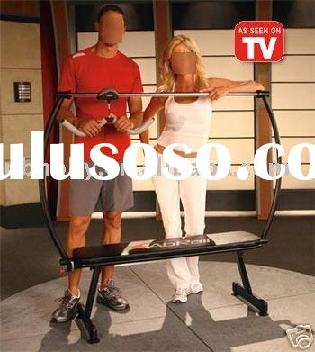 TV670 ab-rail as seen on tv body building equipment