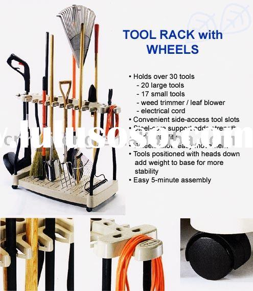 Tool Rack on Wheels