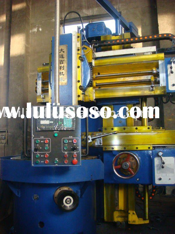 Vertical lathe machine tool