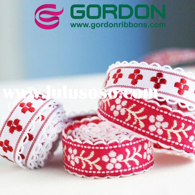 Wholesale Various Design and Sample Jacquard ribbon