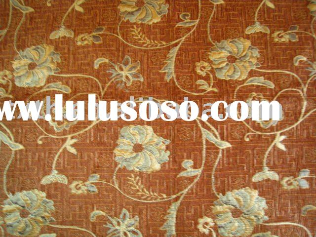 chenille jacquard sofa fabric for upholstery