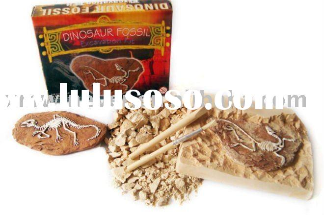 dig it out Dinosaur Fossil toys,Excavation kit toy, Discover kit