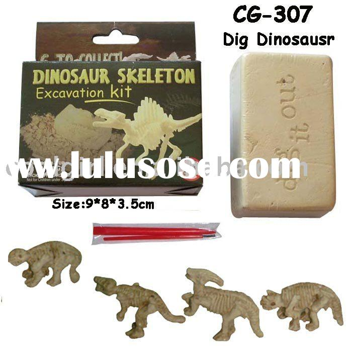 dig it out kids dinosaur fossil excavation kit