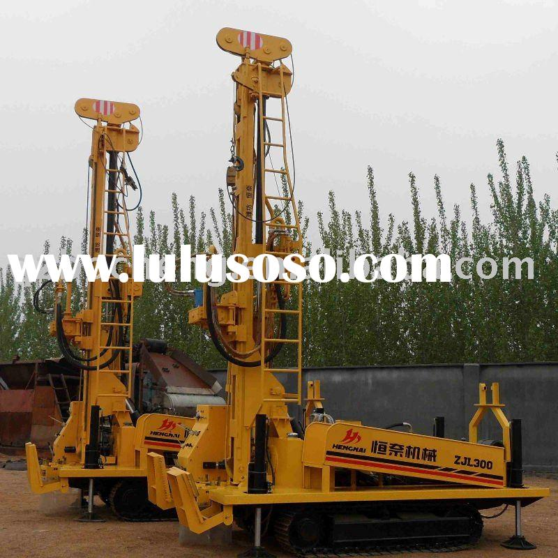 drinking water   well digging machine
