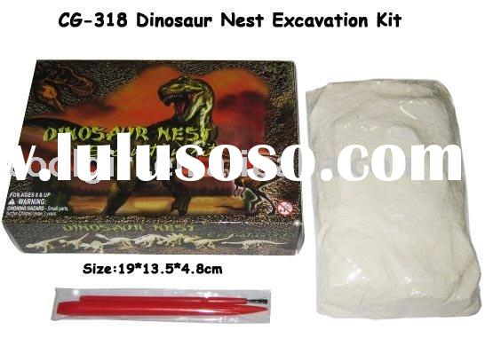 educational dinosaur skeleton excavation kit