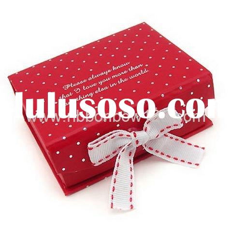 jacquard grosgrain ribbon bows for gift package