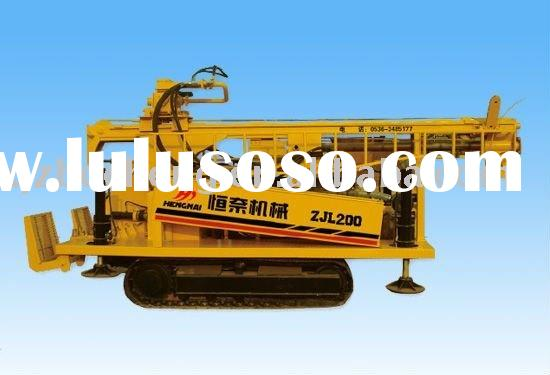 portable   well digging machine