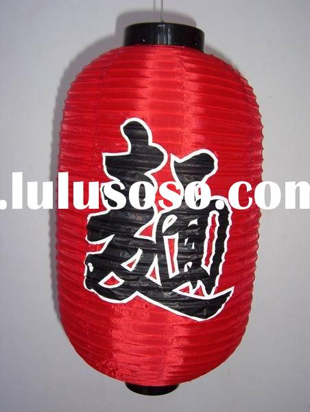 2010 beautiful Chinese silk fabric lanterns