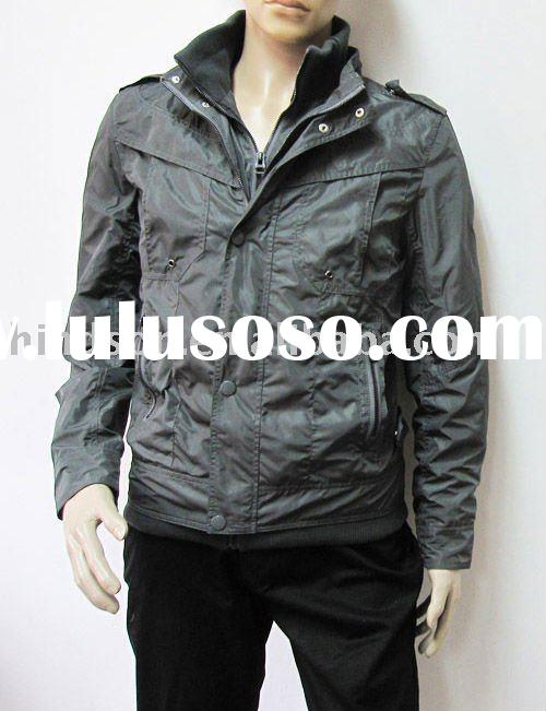 2011 fashion brand casual jacket for men