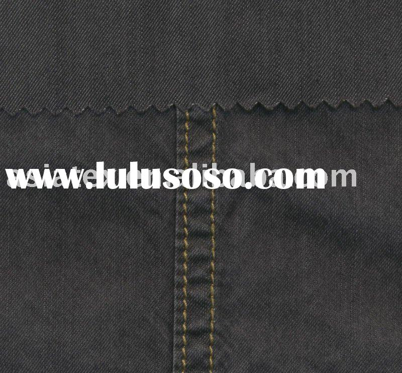 610001 PIMA Cotton fabric; Denim fabric; High fashion fabric