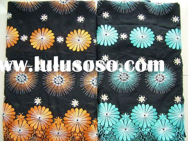African voile lace fabric