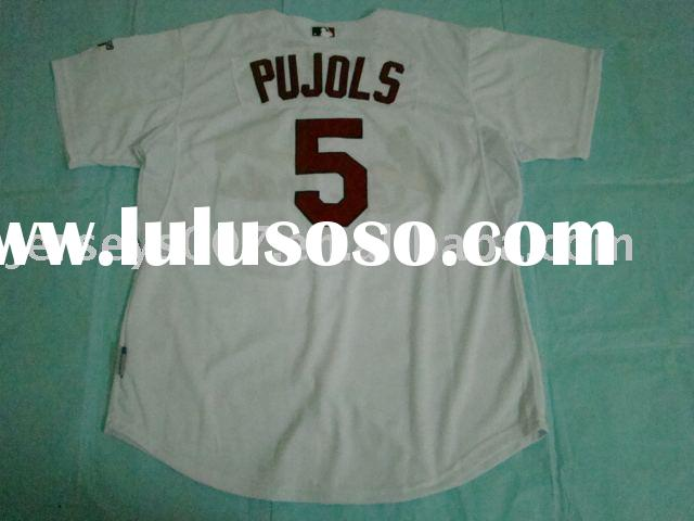 Authentic St.Louis Cardinals #5 Albert Pujols Home Jersey (With Patch).baseball jerseys,accept paypa