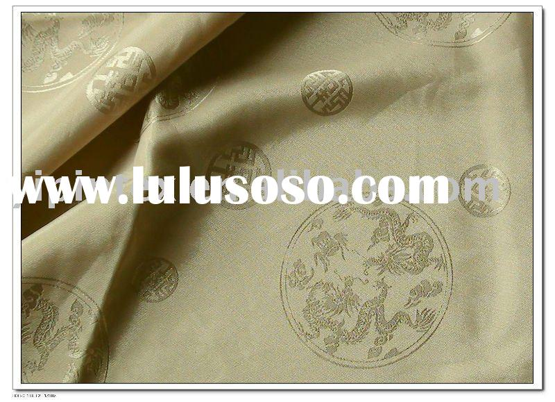 B005 jacquard satin fabric