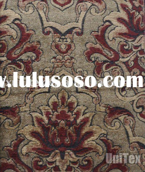 Chenille Jacquard curtain fabric