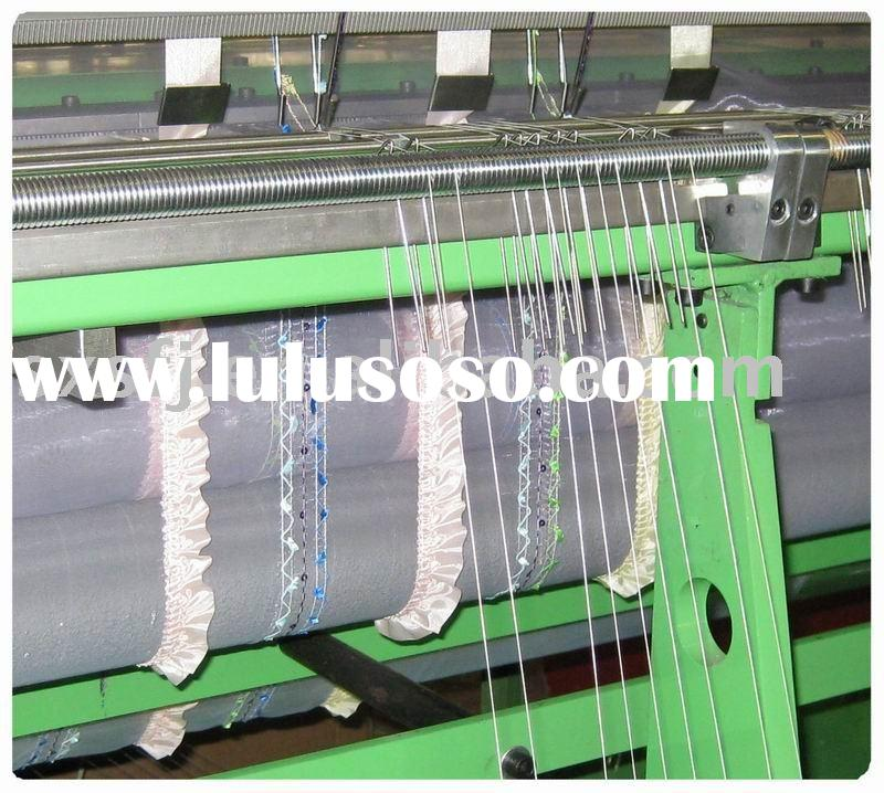 Curtain fabric stitching machine