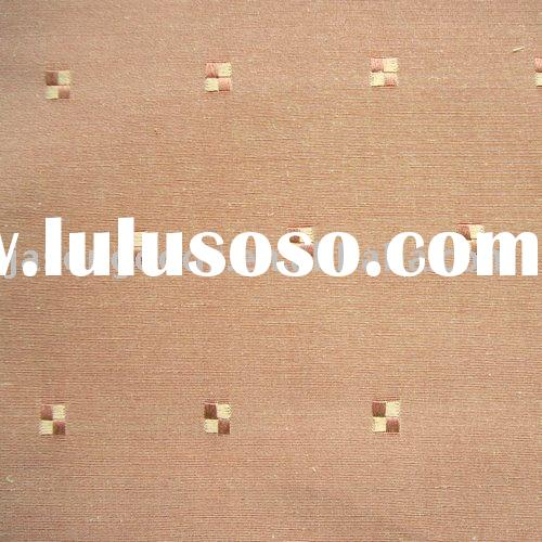 Jacquard Fabric,table cloth, home textile fabric,KSM012-brown